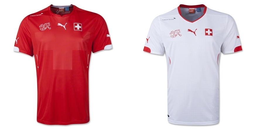 Swiss - Jersey Grade Ori Piala Dunia 2014