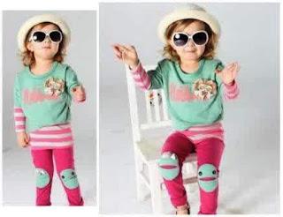 Baju Stelan Anak Perempuan Lucu