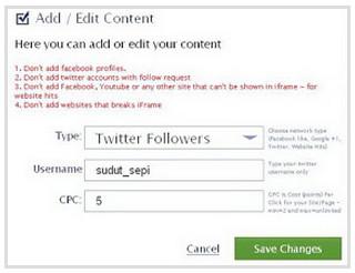 followers twitter menggunakan addmefas