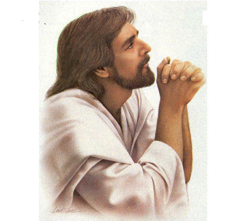 Rostro de jesus orando imagenes de amor con frases poemas cortos