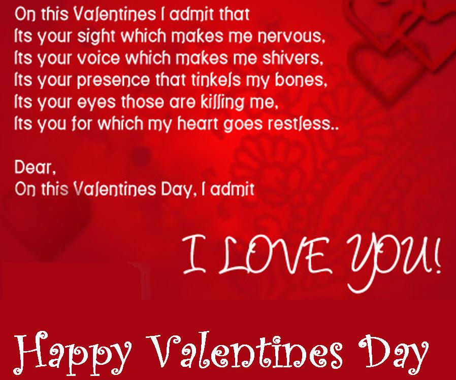 HappyValentines Day Love Quotes Valentine Jinni Simple Love Quotes For Valentines Day Cards
