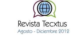 Revista Tecxtus Agosto - Diciembre 2012