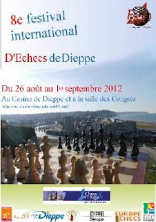 Echecs à Dieppe : l'affiche du festival