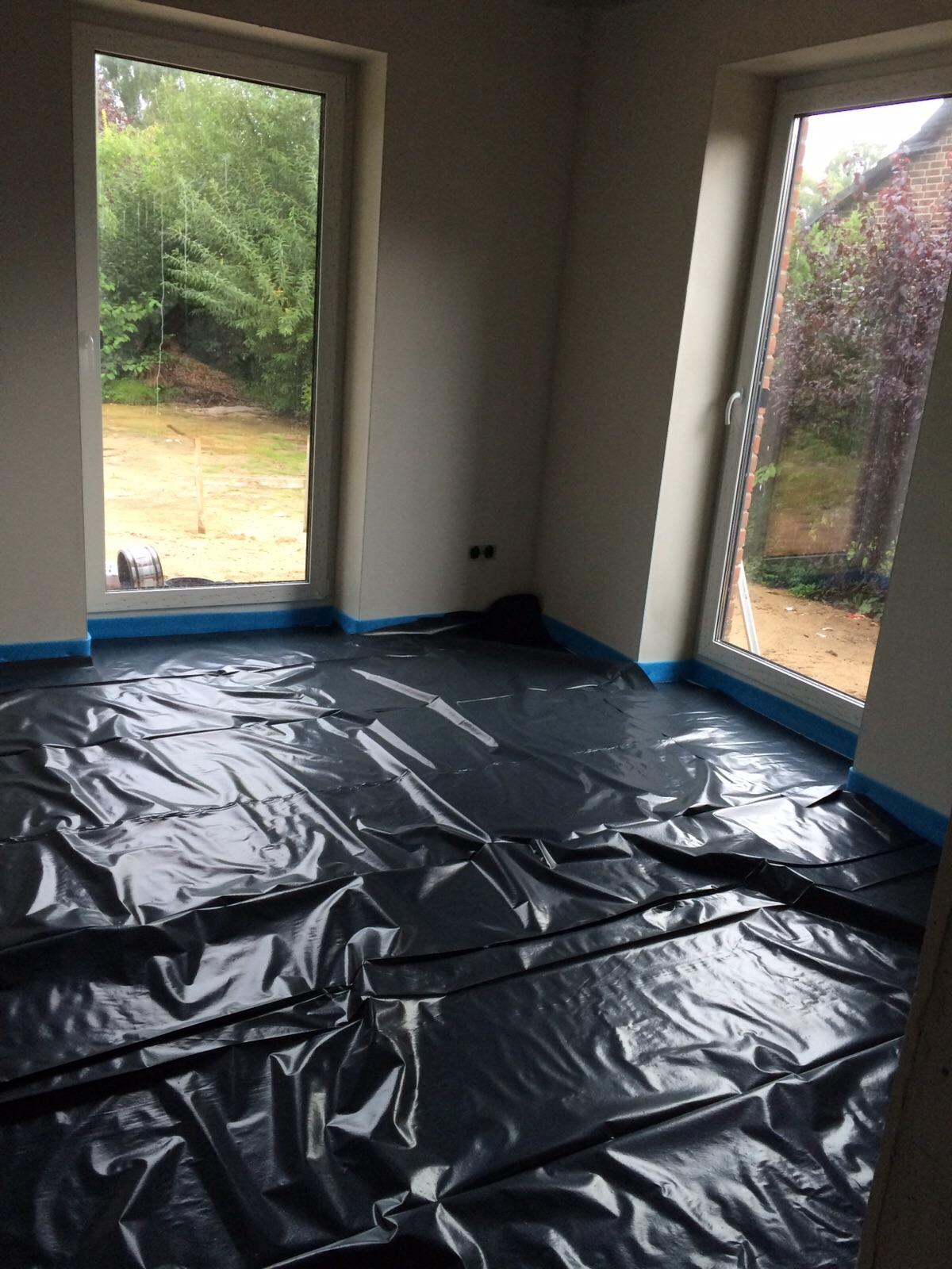 2015 unser haus wir bauen mit pde massivbau fu bodenheizung. Black Bedroom Furniture Sets. Home Design Ideas