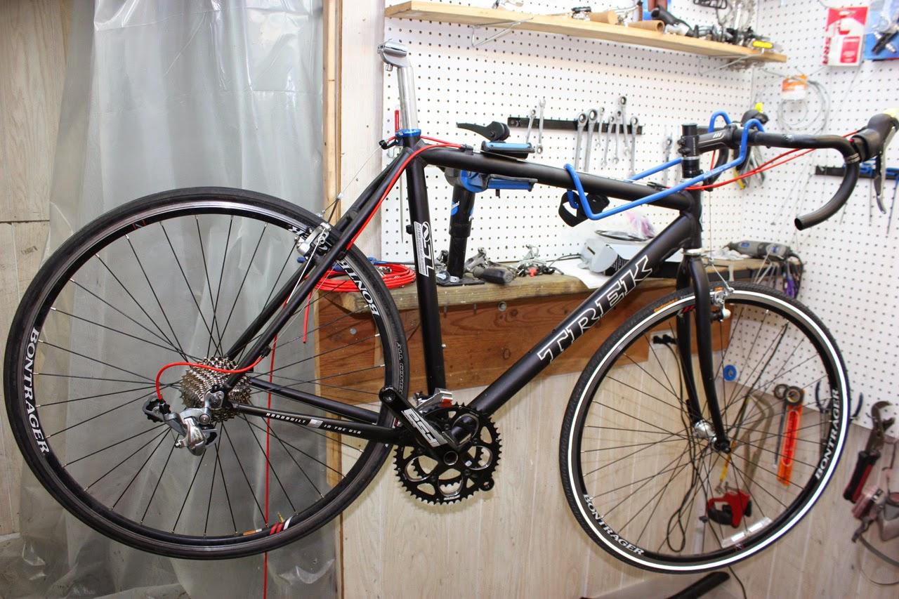 john 39 s bicycle restorations trek cyclocross xo1 frame. Black Bedroom Furniture Sets. Home Design Ideas