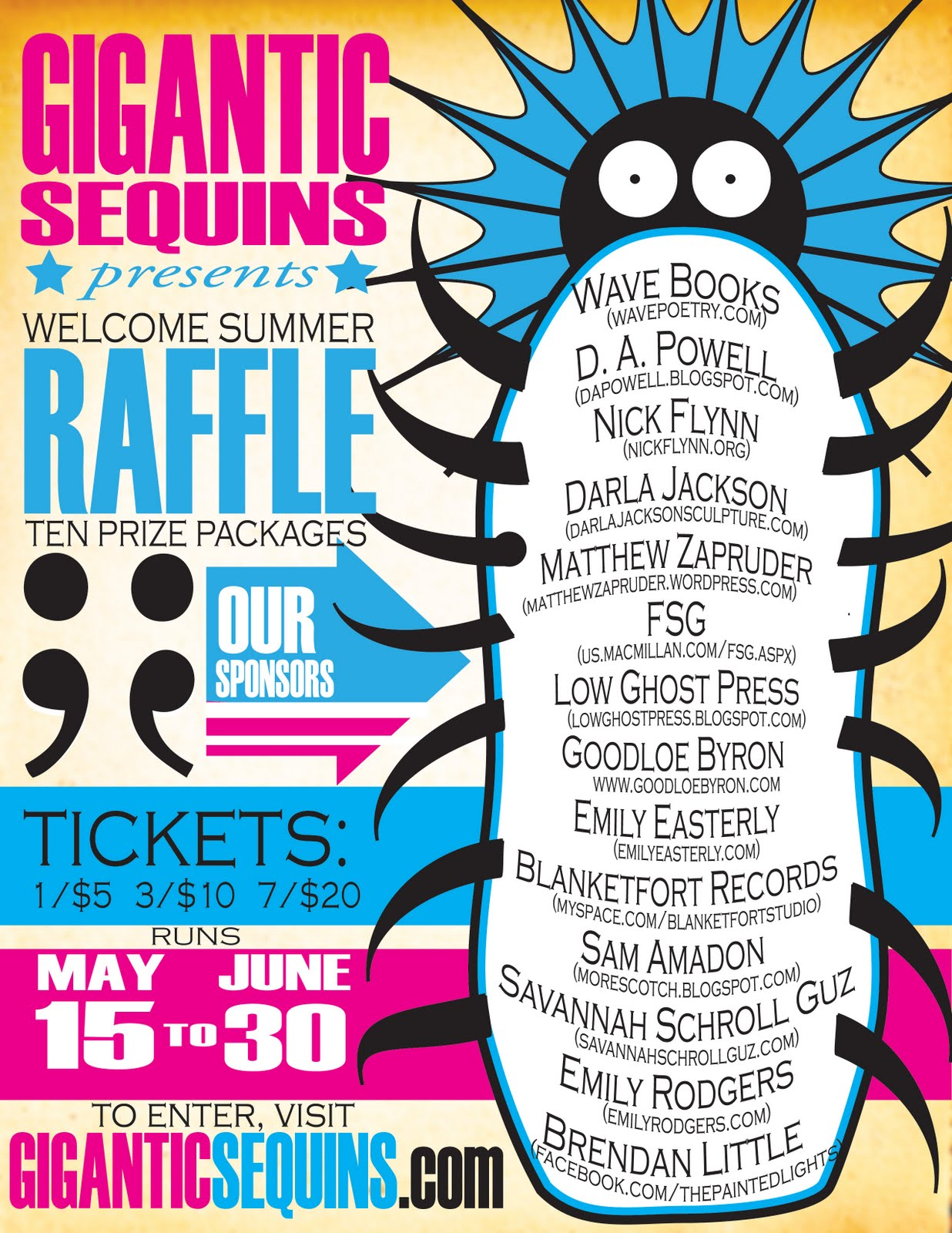 i can t really sing so the welcome summer raffle the welcome summer raffle
