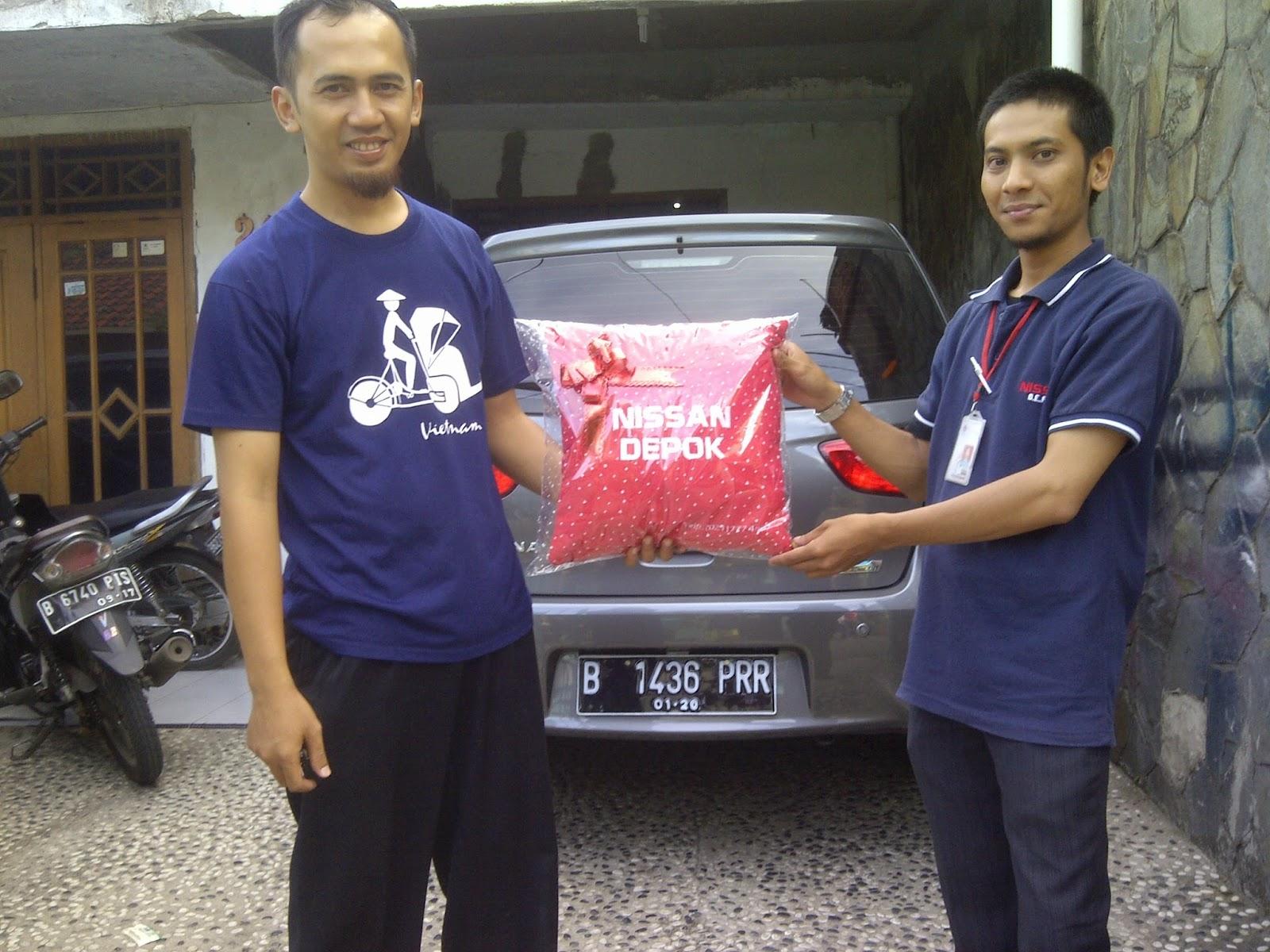 Terimakasih atas kepercayaan Bapak Ferdian yg telah membeli Nissan Grand Livina melalui media www.touchnissan.com.  Semoga Berkah ya Pak...