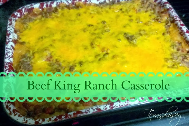 Beef King Ranch Casserole Recipe