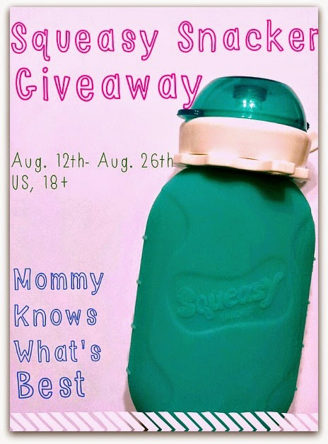 Squeasy Snacker Giveaway
