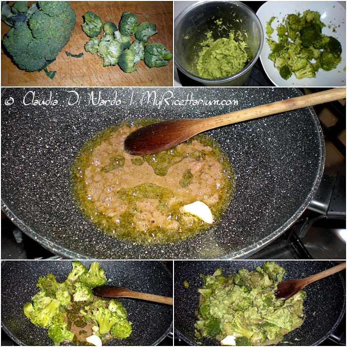 Tortiglioni con broccolo siciliano e uvetta