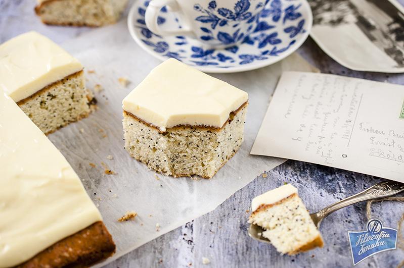 Ciasto z cytryną i makiem przepis
