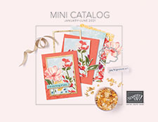 2021 January-June Stampin' Up! Mini Catalog