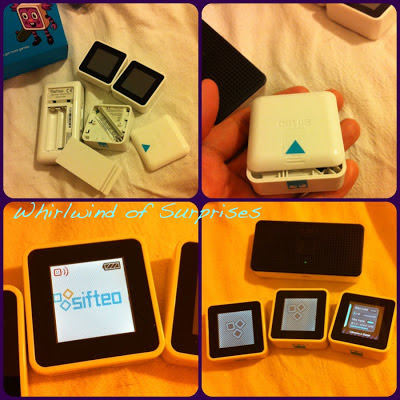 interactive gaming with Sifteo Cubes