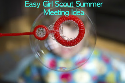 Girl Scout meeting ideas for summer
