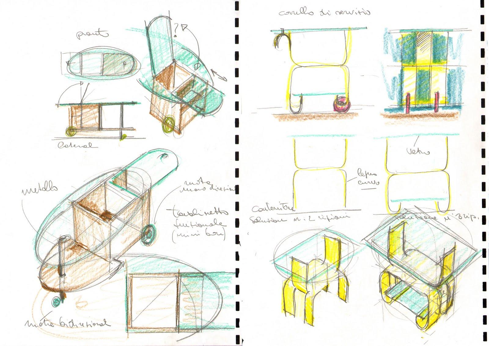 Ventanni di disegni dellArch. Antonio Saporito: Disegni di sedie e ...