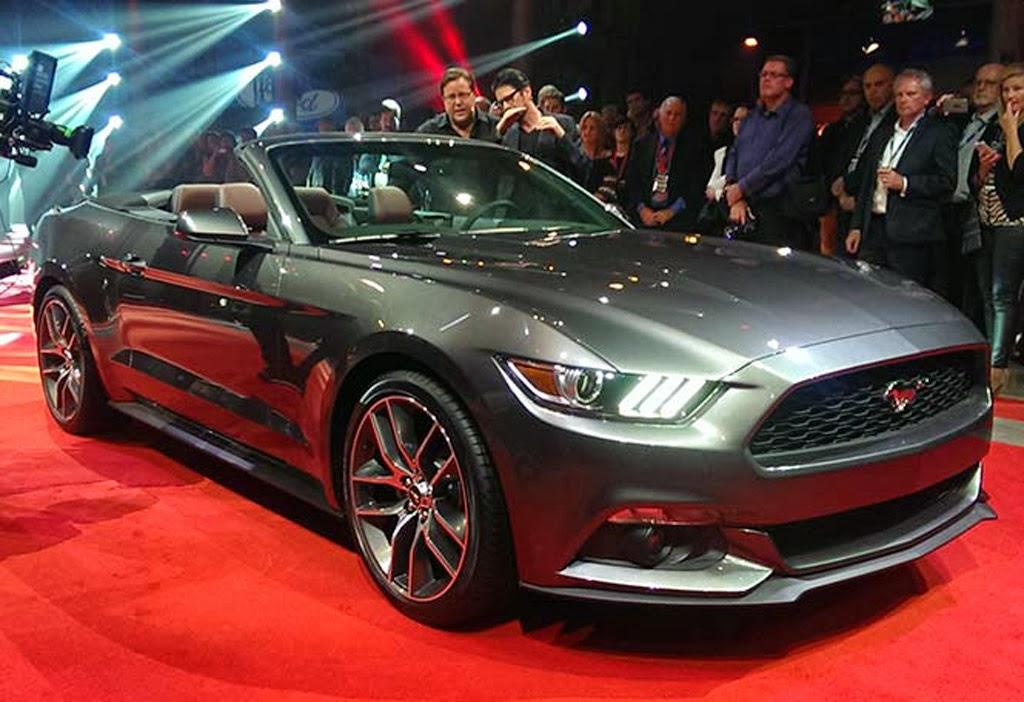 Mustang 2015 Convertible