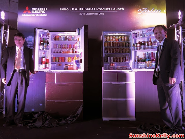 Mitsubishi Electric Folio JX / BX Refrigerator Soft Launch, Mitsubishi Electric, Folio JX refrigerator, folio BX Refrigerator, mitsubishi malaysia