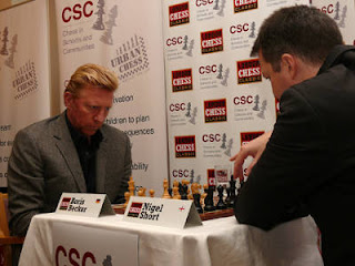 London Chess Classic : Boris Becker aime les échecs