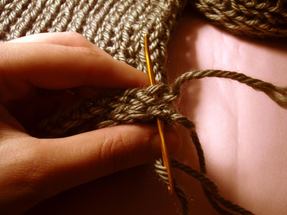 loom knitting basics tutorial