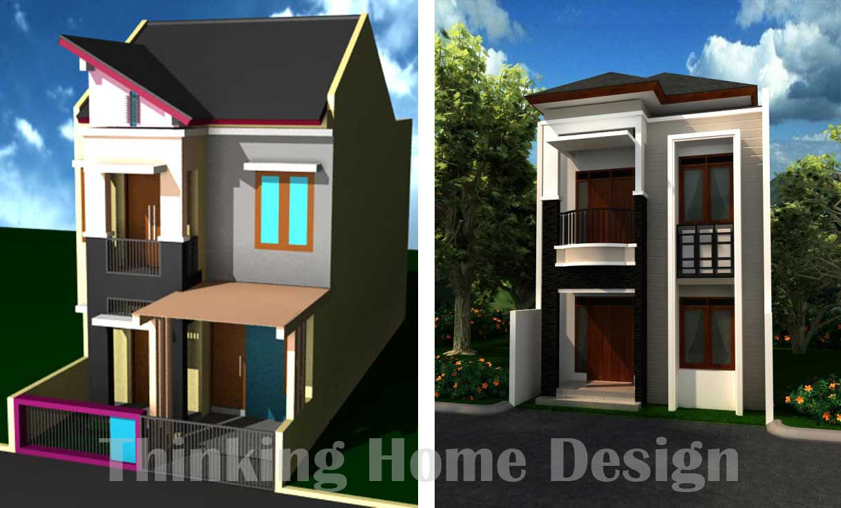 Modern 1 storey house for Small two storey house