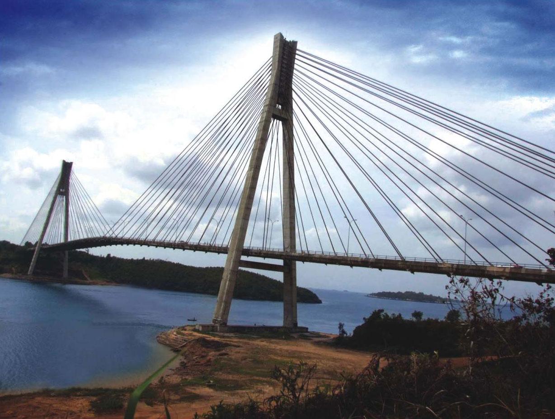 Jembatan barelang , batam,indonesia