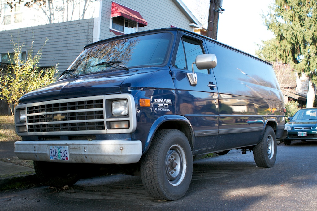 The Street Peep  1995 Chevrolet G30 Diesel Van