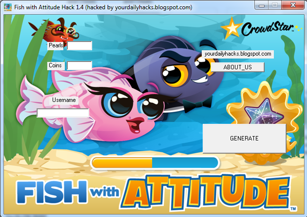 Dailygamehacks fish with attitude hack 1 5 updated for Fish with attitude 2