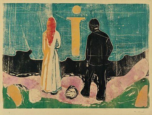 Art History News Edvard Munch Symbolism In Print Masterworks From