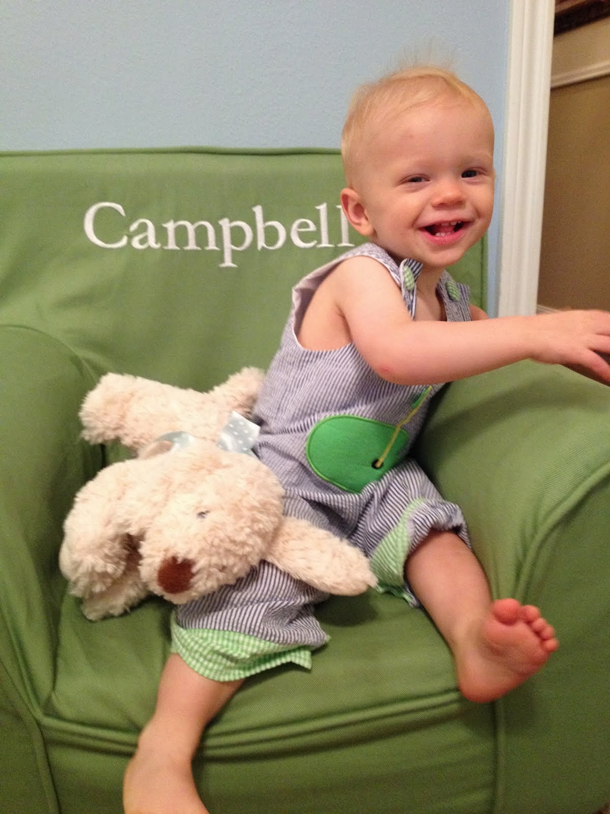 Campbell at 12 months