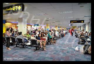 Domestic Departure Lounge at Phuket International Airport