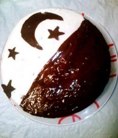 Торт день ночь рецепт фото пошагово