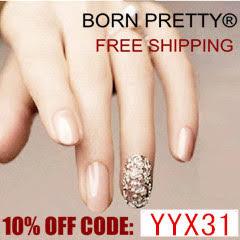 Купон на скидку  10% в www.bornprettystore.com - YYX31