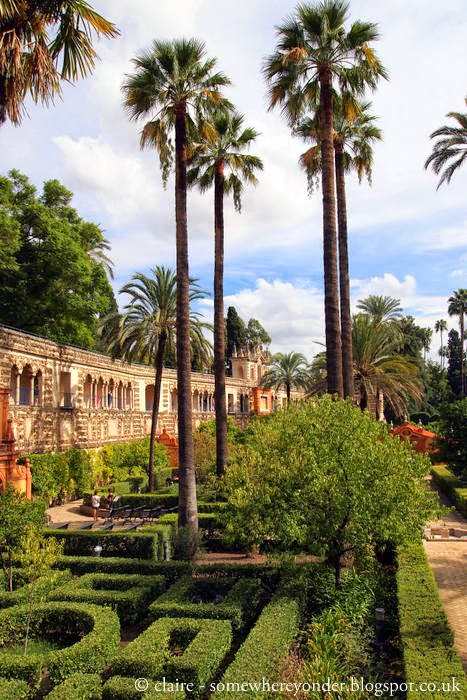 The Alcázar Gardens - Sevile