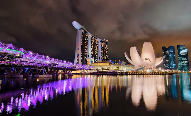 Marina Bay Sands, Singapore, Photo of the Day, Best Photos, Photography, Photos, Best Picture, Pinterest, Landscape, Best Night Shot, Best Marina Bay Sands Picture