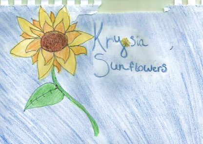 Krysia Sunflowers
