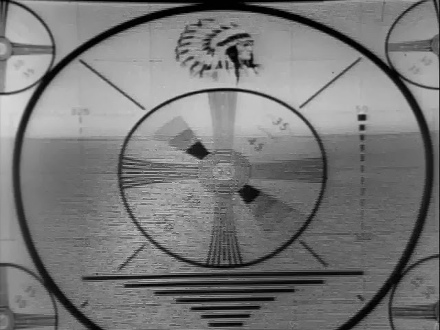 The Outer Limits TV When I Was Born Amazing Old Tv Test Pattern