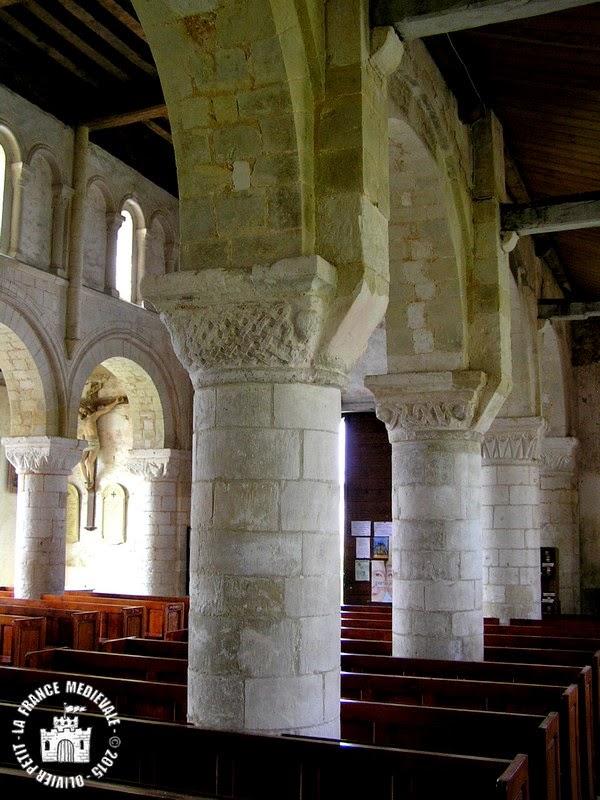 MANEGLISE (76) - Eglise Saint-Germain-l'Auxerrois (Intérieur)