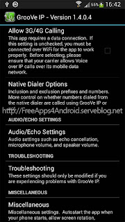 GrooVe IP - Free Calls + Text Free Apps 4 Android