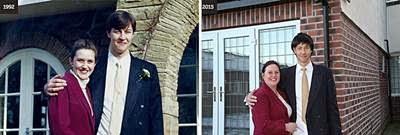 11 foto pasangan yang telah mengabadikan cinta mereka pada sebua Jurnal Polaroid Blipfoto
