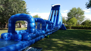 Largest inflatable water slide for rent in AZ