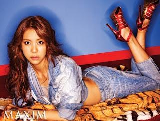 Nine Muses Jaekyung Maxim Korea Pictures