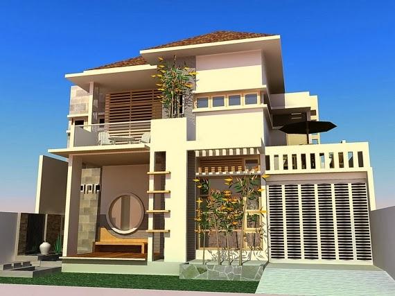 Modern mewah Desain Rumah