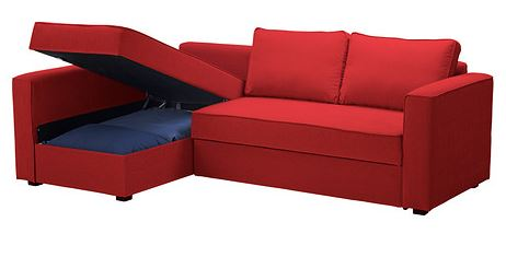 arredo a modo mio manstad ikea divano letto angolare e