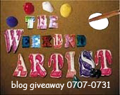 The Weekend Artist Giveaway