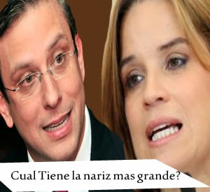La Nariz de Carmen Yulin Vs Alejandro Garcia Padilla