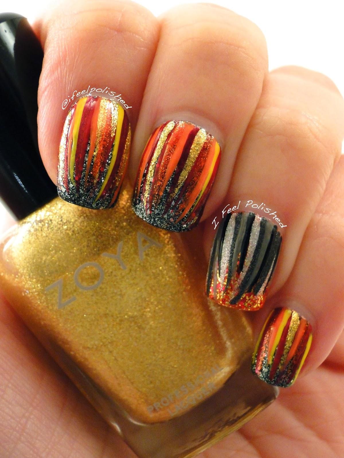 I Feel Polished!: Catching Fire Nails!!