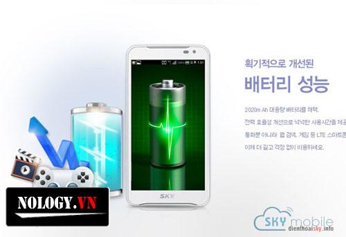 pin của LG Optimus G ,sky A850 và Samsung galaxy S3