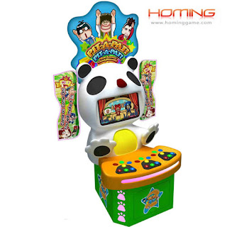Cheerful Hitting arcade game machine