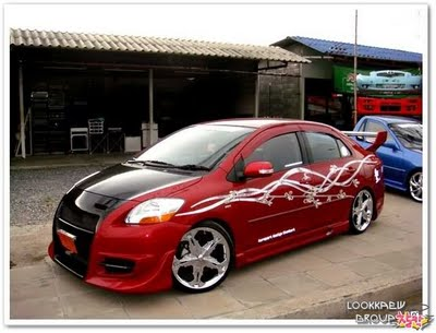 New Modification toyota vios modified sportcar  New Car Concept