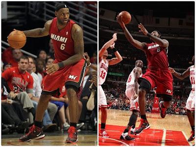 lebron 8 ps away. Nike LeBron 8 PS New Away PE Sneaker